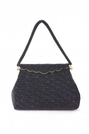Handtasche schwarz-goldfarben Elegant