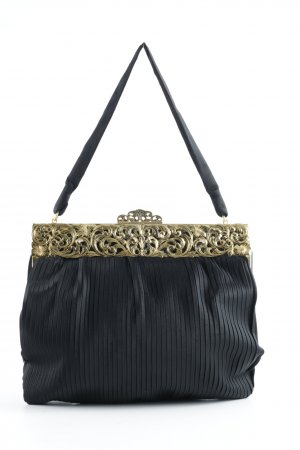 Handbag black-gold-colored vintage products