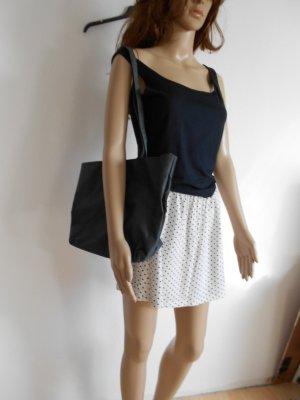 Handtasche schwarz Grau antrazith