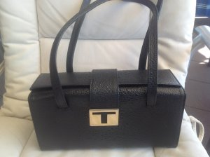 Handtasche schwarz  Kastenform