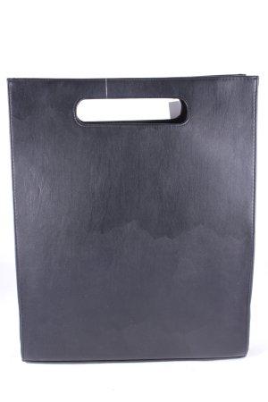 Handtasche schwarz minimalistischer Stil