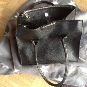 Handtasche schwarz von Hallhuber