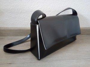 Handtasche schwarz/weiß von Disser