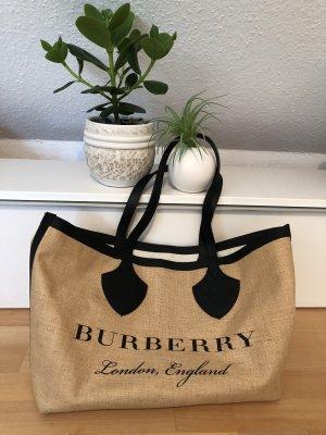 Burberry Shopper black-beige