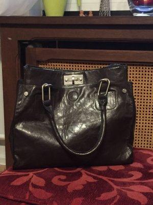 Handtasche Shopper dunkelbraun von Orsay
