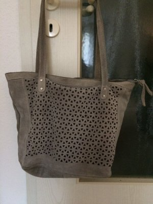 Handtasche/Shopper in grau