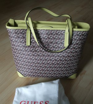 Guess Shopper brun-jaune synthétique