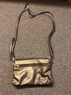 Tchibo / TCM Mini Bag silver-colored