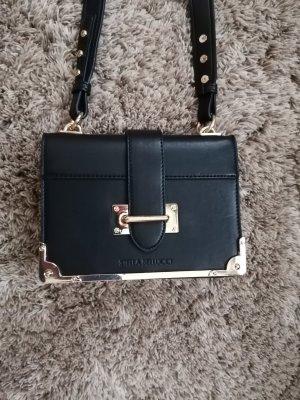 Gekruiste tas zwart-goud