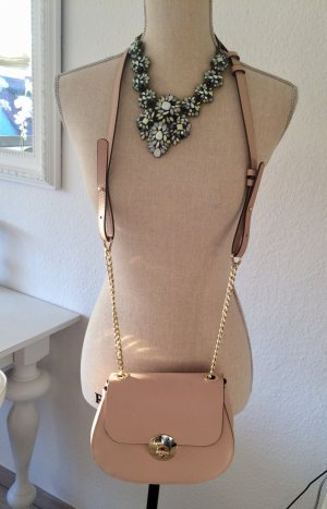 Handtasche Tasche Drew Bag Blogger Rose Nude Echtleder