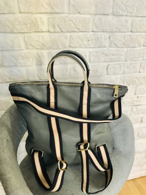 0039 Italy Laptop Backpack silver-colored