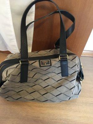 Handtasche Tasche von Fossil beige gold