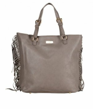 BCBG Handbag grey brown