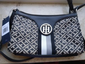 Tommy Hilfiger Handtas zwart-grijs-bruin