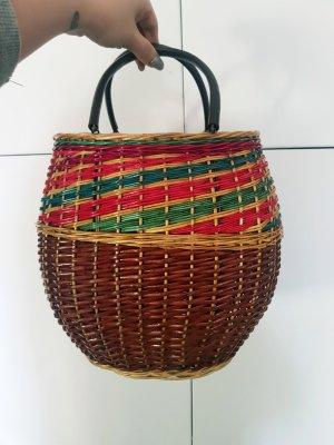 Handtasche True Vintage Stroh flecht Handtasche