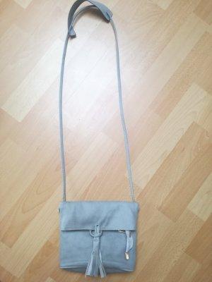 Handtasche, Umhängetasche grau