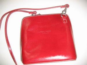 Vera Pelle Carry Bag dark red