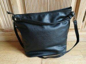 Handtasche Umhängetasche Shopper schwarz