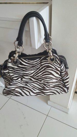 Handtasche Unützer in Zebramuster