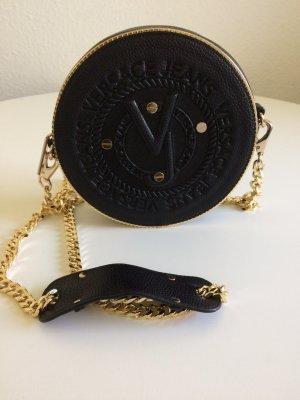 Handtasche, Versace Jeans, Crossbody Round Logo Nero Crossbody…