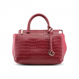 Versace Carry Bag carmine imitation leather