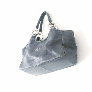 handtasche • vintage • lurueña • blau • leder • usedlook • bohostyle