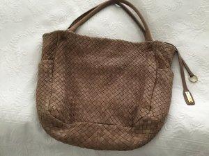 Handtasche von Abro aus geflochtenen Leder