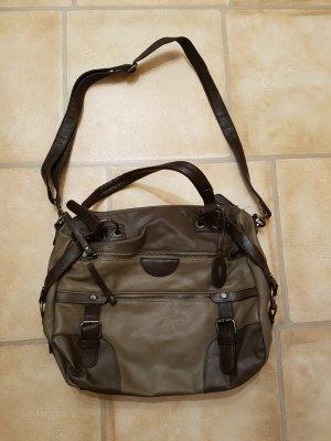 Bonita Bolso marrón-marrón oscuro