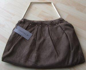 Frame Bag brown textile fiber