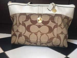 Coach Carry Bag multicolored mixture fibre