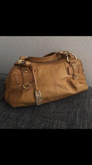 DKNY Bolso de bolos marrón arena