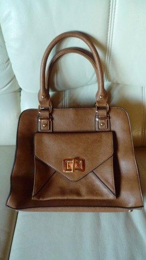 Handtasche von DUNE London camelfarben