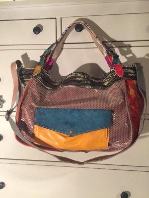 Handtasche von Ebarrito Leder bunt