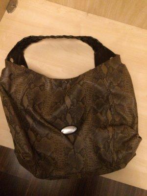 Handtasche von Esprit im Schlangenlook wie NEU mit Lederhenkel