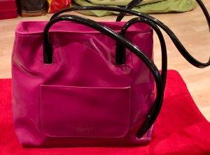 Handtasche von Esprit in Lackoptik