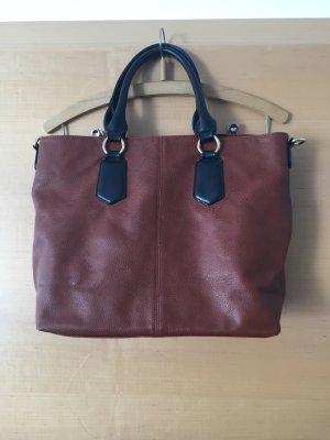 Handtasche von Forever21 braun