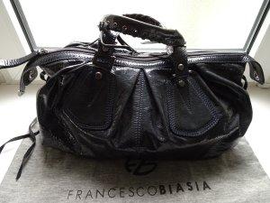 Francesco Biasia Bowling Bag slate-gray leather