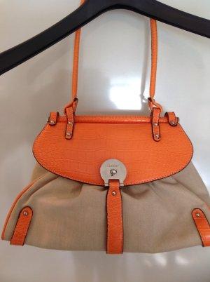 Handtasche von Gabor, beige-orange