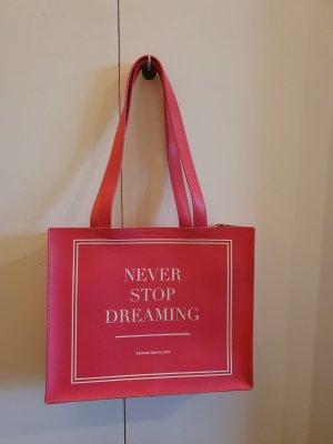George Gina & Lucy Bolso rosa-rosa neón