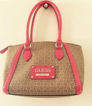Handtasche von Guess (braun-pink)