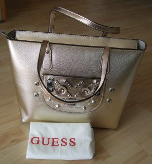 Guess Handbag gold-colored