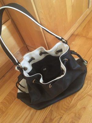 Handtasche von H&M (schwarz-weiß)