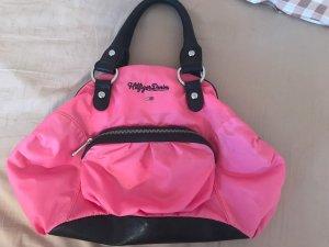 Hilfiger Denim Carry Bag pink-black brown