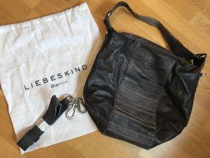 Handtasche von Liebeskind, Farbe graublau