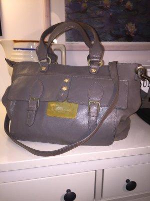 Handtasche von Liebeskind in grau, crash-Optik