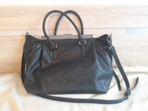 Liu jo Handbag black imitation leather