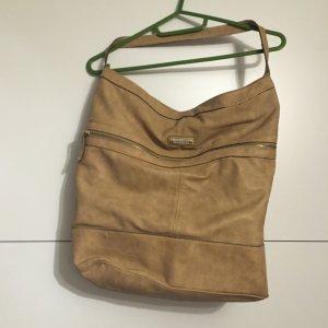 Handtasche von Mango (beige)