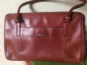 Marc Picard Carry Bag cognac-coloured-slate-gray leather