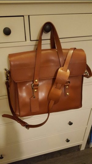 Handtasche von Poon braun Umhängetasche
