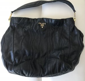 Prada Handbag black-gold-colored